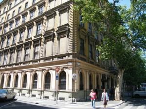 Az egykori pártellátó épülete