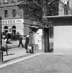 Lövölde tér (1949). Forrás: Fortepan/IMRE